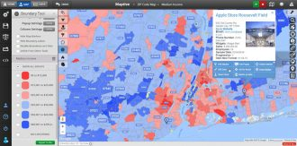 Zip Code Map with Excel Data