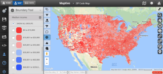 income zip code map
