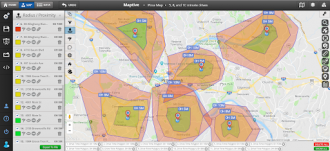 google radius mapping