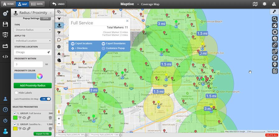 maptive mapping software