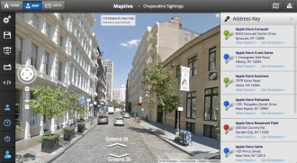 downtown data visualization