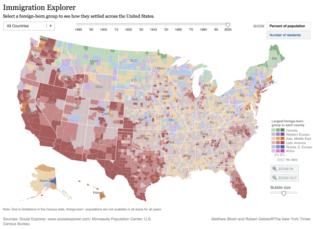 7 compelling visualizations that show the power and value of maps