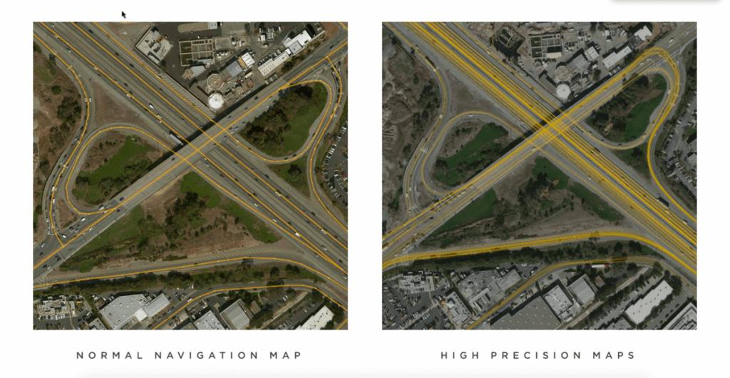High precision maps