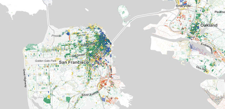 Every Job in America Mapped