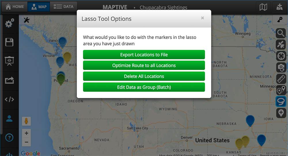 Lasso Tool Options