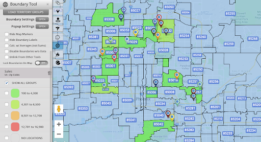 Zip Code Map - Different Kinds of Maps