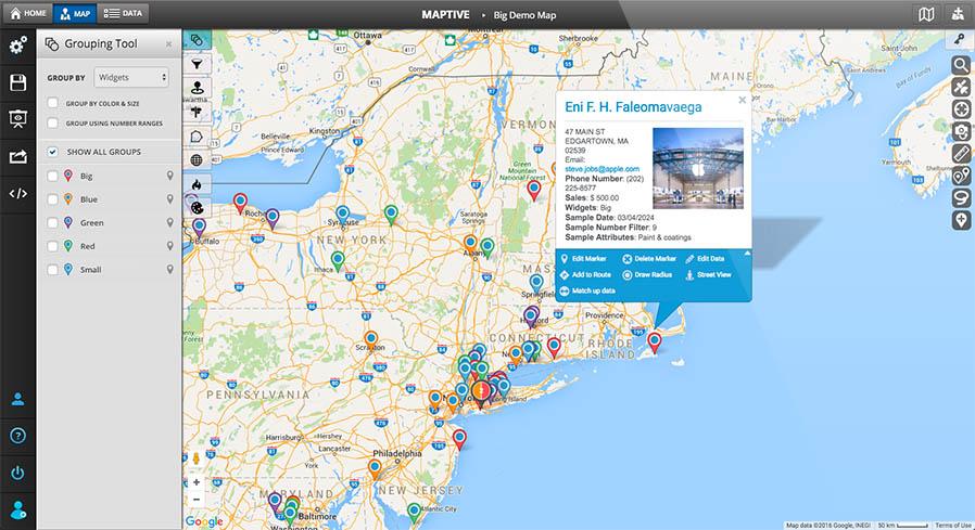 custom map creator amp map maker maptive