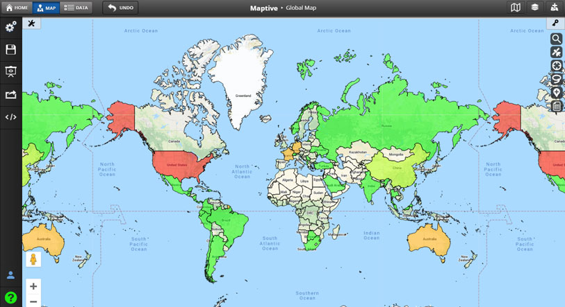 Global Mapping Software
