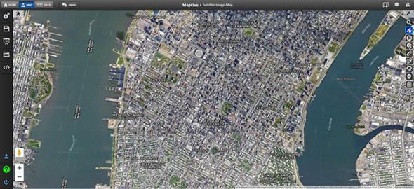 Satellite Image Maps