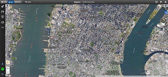 Satellite Imagery Maps