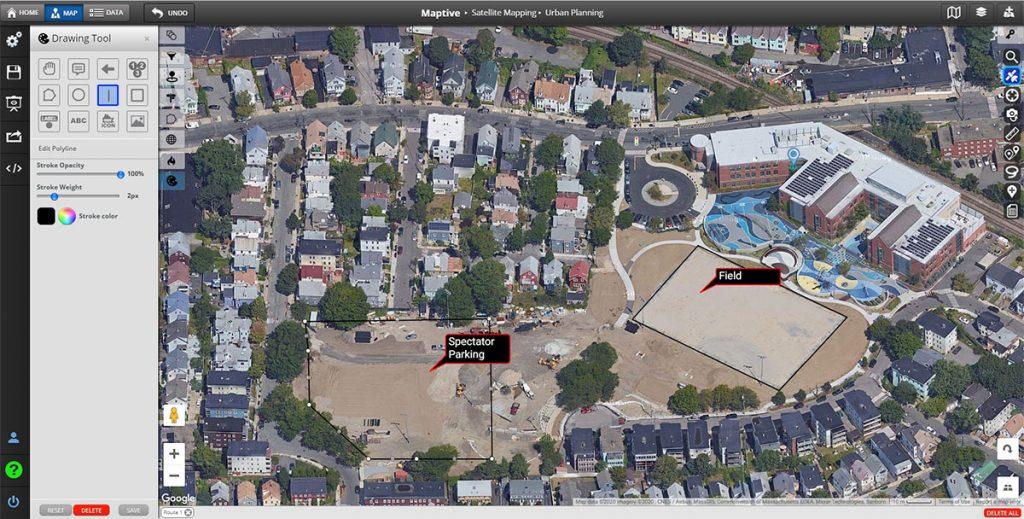 Urban Planning Satellite Mapping