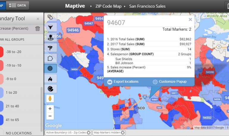 San_Francisco_sales_data_map_by_zip_code