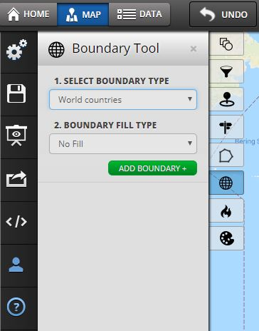 boundary mapping tool