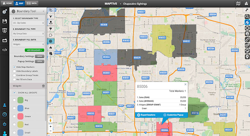 Boundary Tool Data Visualization