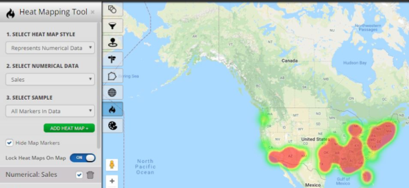 Heat Map Tool Data Visualization
