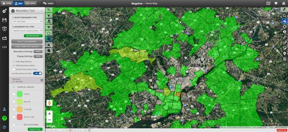 Online Mapping Software