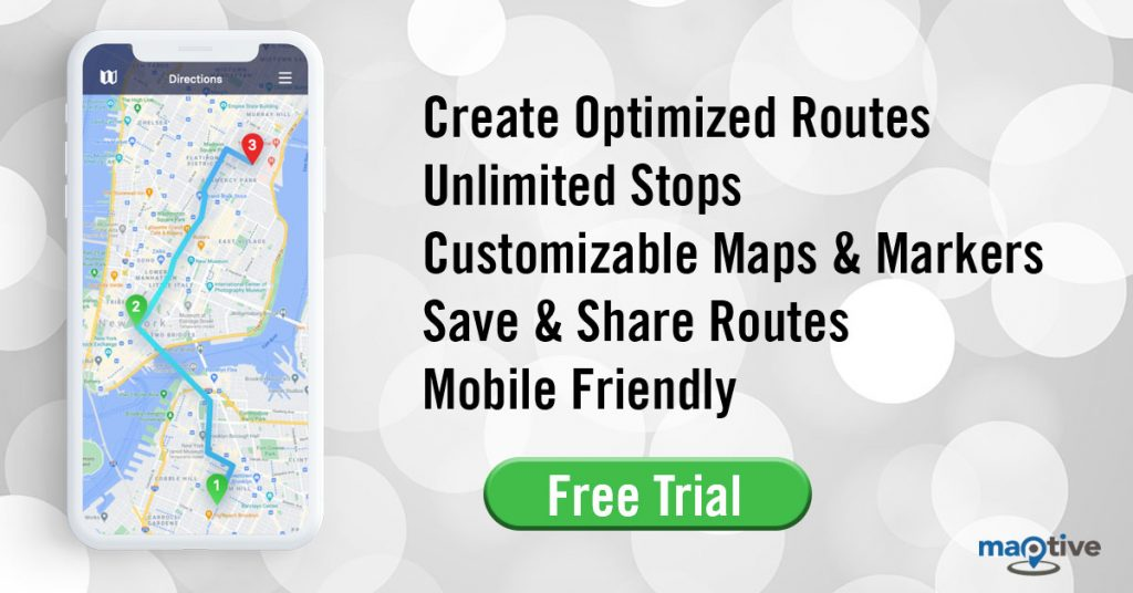Maptive Route Planner