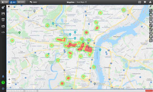 Sales Heat Maps