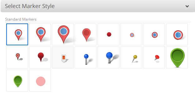 Custom Map Markers