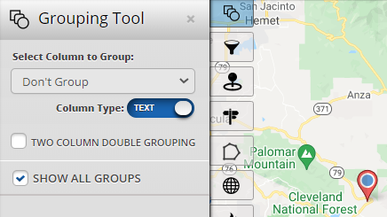 Intuitive Map Grouping