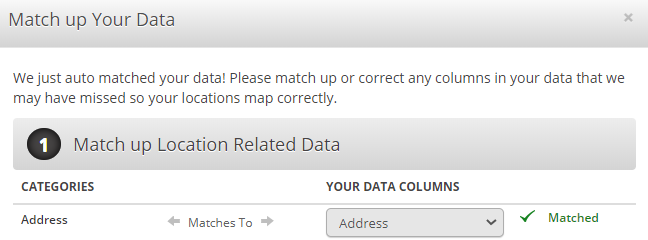 Match Data