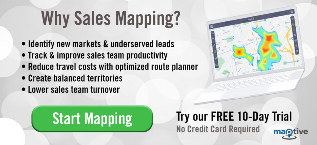 Why Sales Mapping